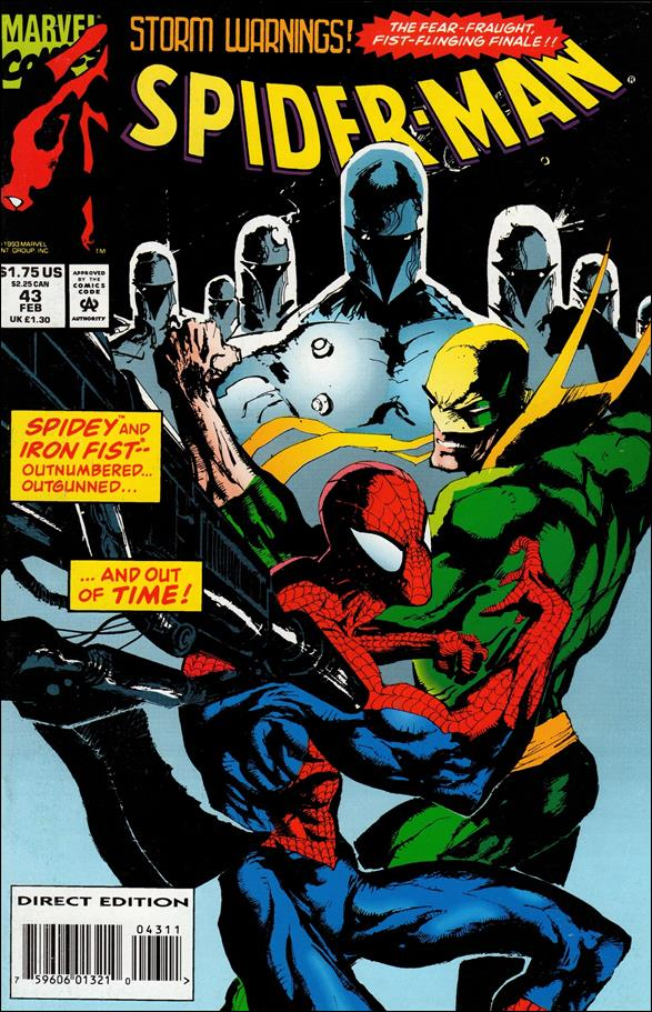 Spider-Man (1990) 43-A by Marvel