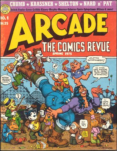 Arcade: the Comics Revue 1-A by Print Mint
