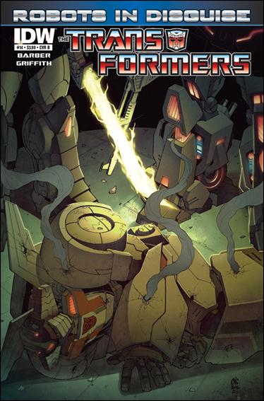 Transformers: Robots in Disguise 14-B by IDW