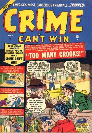 Crime Can't Win 4-A by Marvel