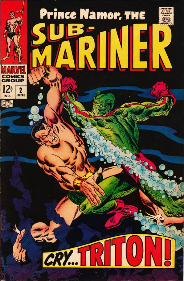 Sub-Mariner (1968) 2-A by Marvel