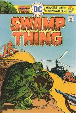 Swamp Thing (1972) 22-A