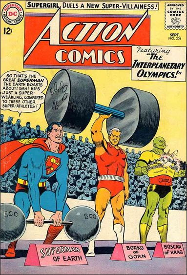 Action Comics (1938) 304-A by DC