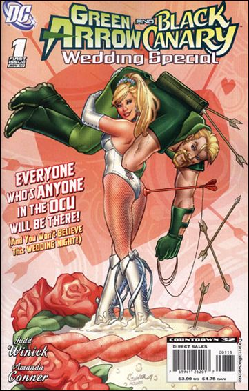 Green Arrow/Black Canary Wedding Special 1-A by DC