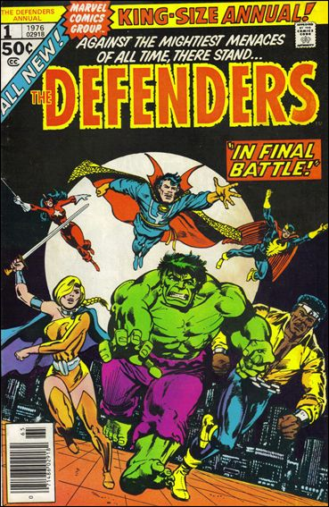 Defenders Annual 1-A by Marvel