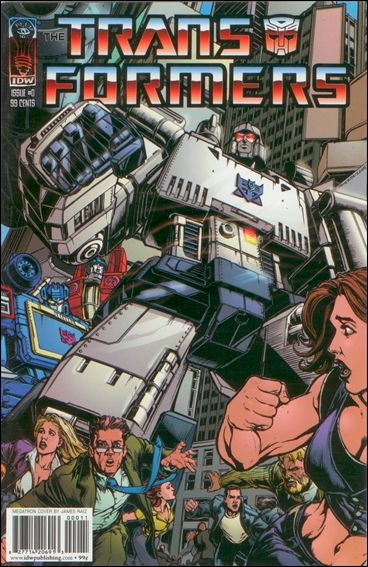 Transformers: Infiltration 0-D by IDW