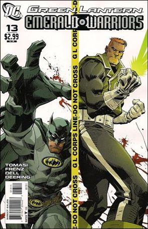 Green Lantern: Emerald Warriors 13-A