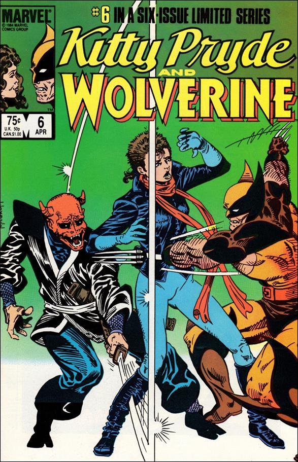 Kitty Pryde and Wolverine 6-A by Marvel