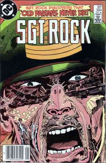 Sgt. Rock (1977) 384-A by DC