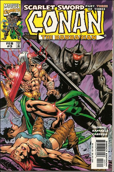Conan: Scarlet Sword 3-A by Marvel