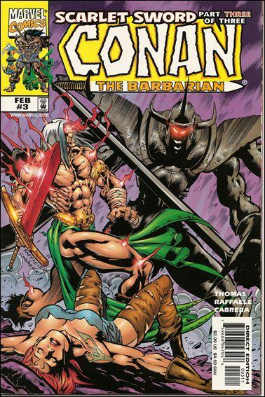 Conan: Scarlet Sword 3-A by Marvel