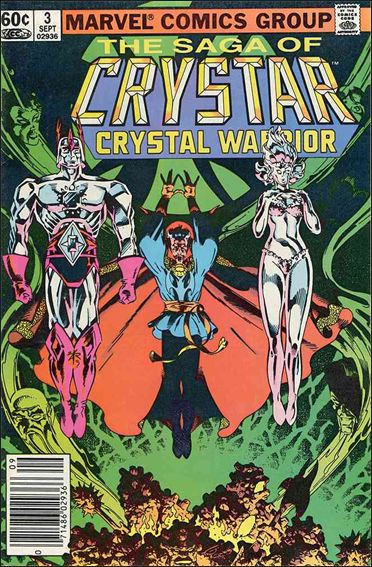 Saga of Crystar Crystal Warrior 3-A by Marvel