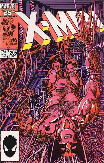 Uncanny X-Men (1981) 205-A by Marvel