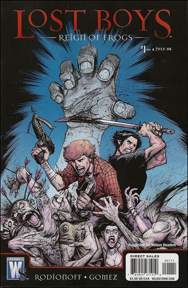 Lost Boys: Reign of Frogs 1-A by WildStorm