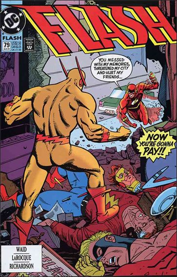 Flash (1987) 79-A by DC