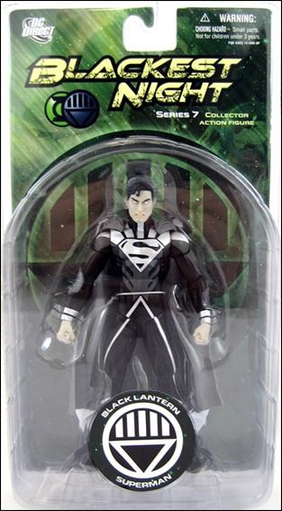 Blackest Night (Series 7) Black Lantern Superman by DC Direct