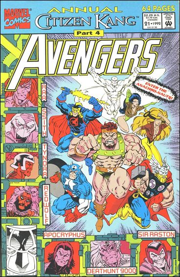 Avengers Annual (1967) 21-A by Marvel