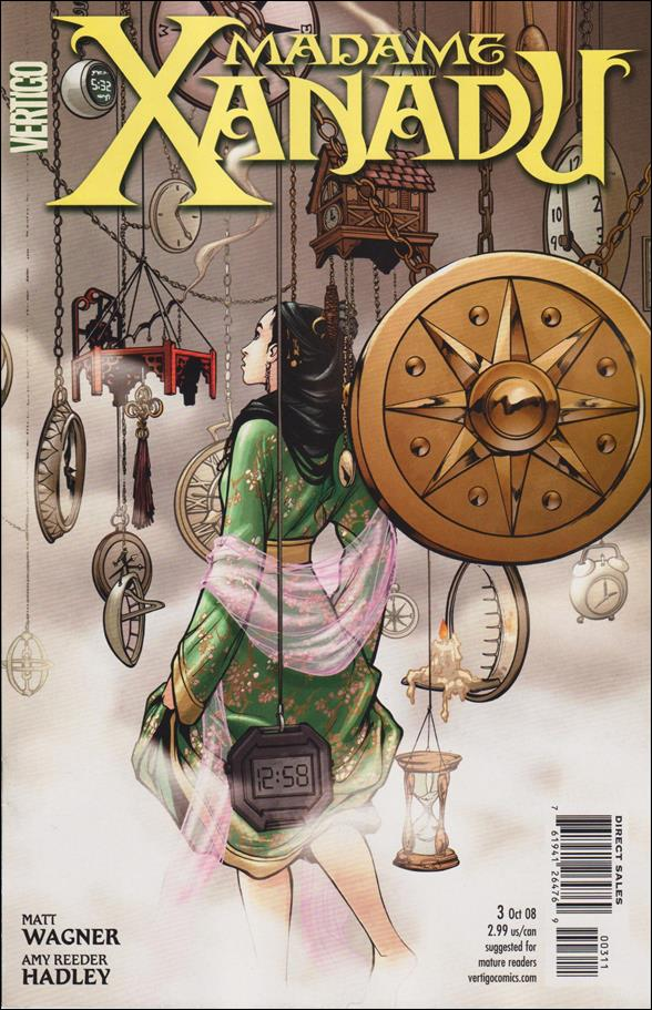 Madame Xanadu (2008) 3-A by Vertigo