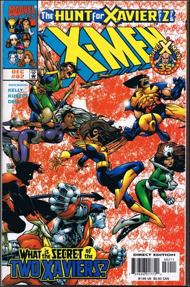 X-Men (1991) 82-A by Marvel
