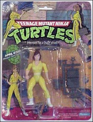 Teenage Mutant Ninja Turtles (1988) April O'Neil