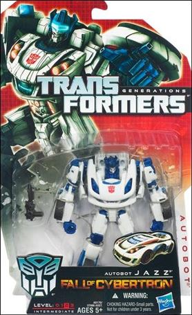 Transformers: Generations (Deluxe Class) Series 2 Autobot Jazz (Fall of Cybertron)