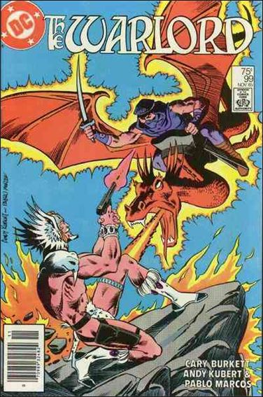 Warlord (1976) 99-A by DC
