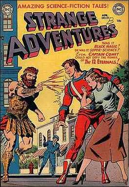 Strange Adventures (1950) 19-A by DC