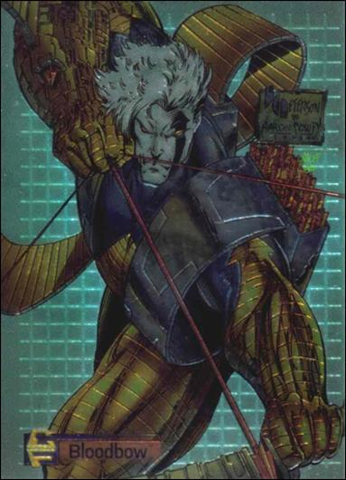 Cyber Force All-Chromium 29-A by Topps