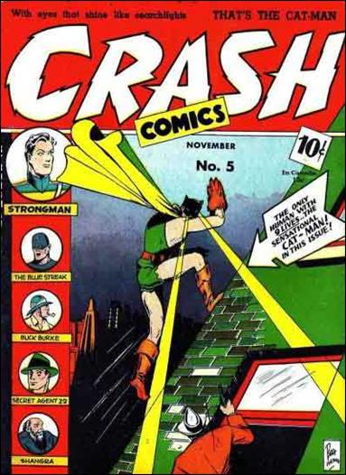 Crash Comics 5-A by Tem Publishing