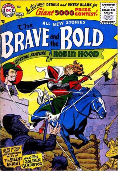 Brave and the Bold (1955) 8-A by DC