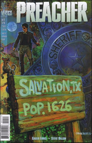 Preacher 41-A by Vertigo