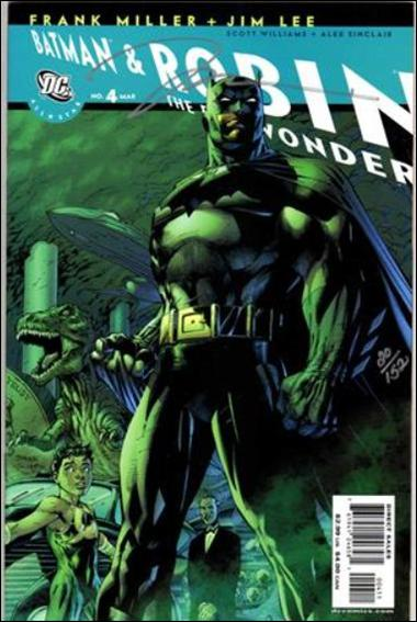 All Star Batman & Robin, the Boy Wonder 4-D by DC