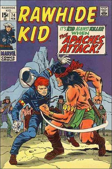 Rawhide Kid (1955) 74-A by Marvel