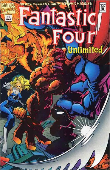Fantastic Four Unlimited 9-A by Marvel