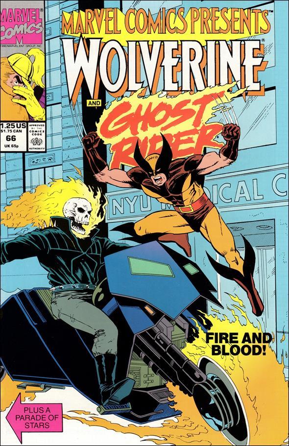 Marvel Comics Presents (1988) 66-A by Marvel