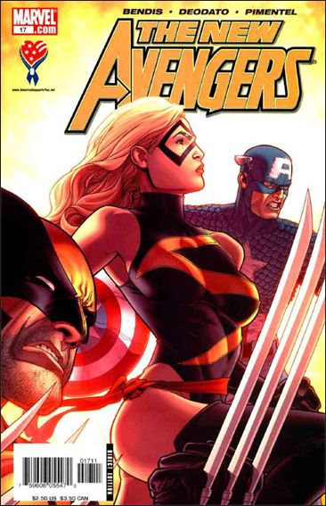 New Avengers (2005) 17-A by Marvel