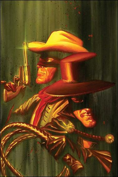 Lone Ranger & Zorro: The Death of Zorro 1-E by Dynamite Entertainment