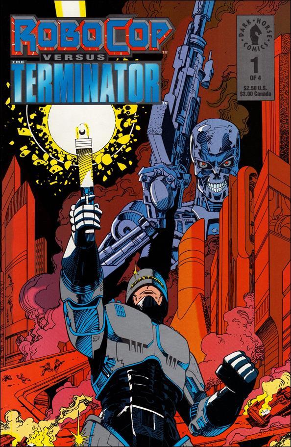 Robocop Versus the Terminator 1-A by Dark Horse
