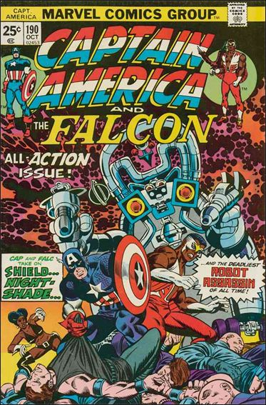 Captain America (1968) 190-A by Marvel