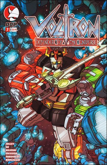 Voltron: Defender of the Universe (2004) 7-A by Devil's Due
