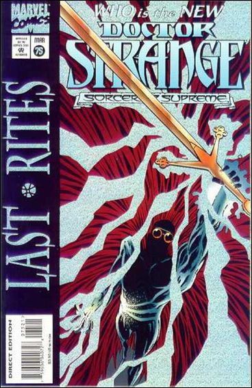 Doctor Strange, Sorcerer Supreme 75-A by Marvel
