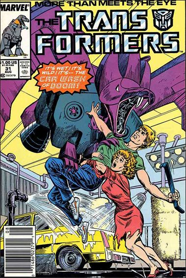 Transformers (1984) 31-A by Marvel