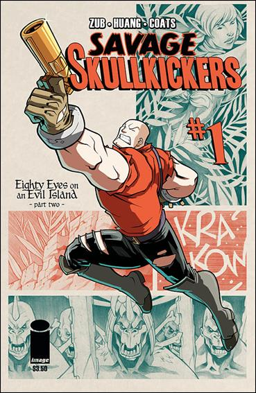 Savage Skullkickers 1-A by Image