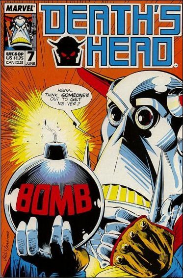 Death's Head (UK) 7-A by Marvel UK
