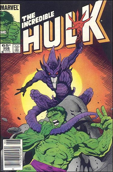 Incredible Hulk (1968) 308-A by Marvel