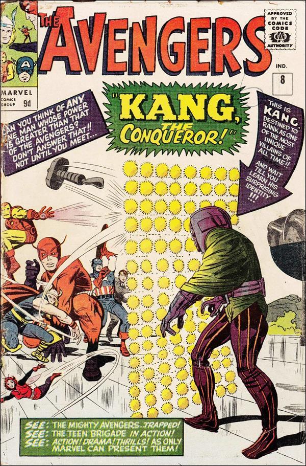 Avengers (1963) 8-B by Marvel
