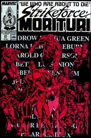 Strikeforce: Morituri 20-A