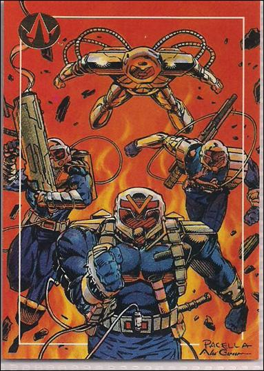 WildC.A.T.s: Set 1 (Base Set) 93-A by Topps