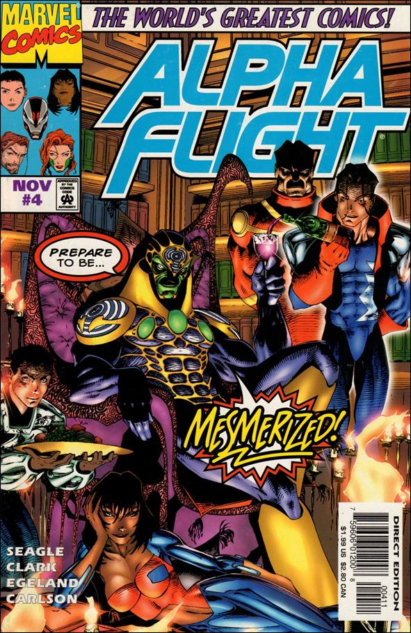 Alpha Flight (1997) 4-A by Marvel