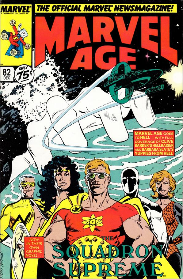 Marvel Age 82-A by Marvel